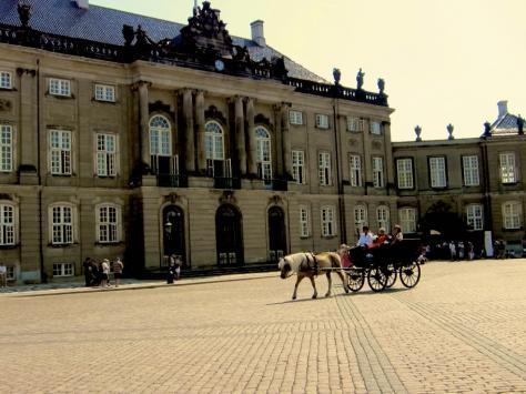 Copenhagen-Amalienborg-Palace