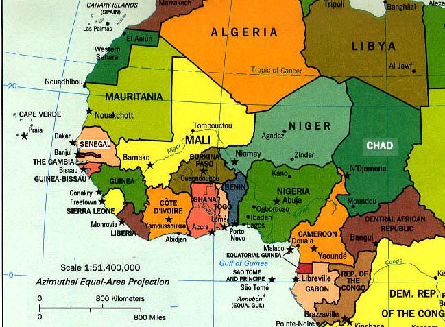 Afrika Barat
