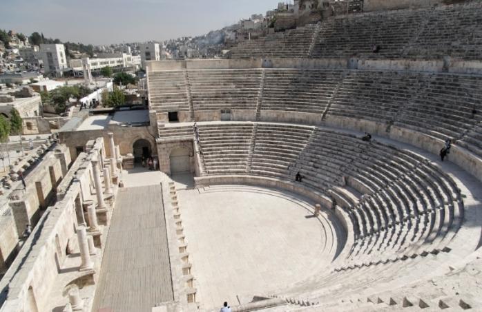 Roman Theatre, Amman Jordan